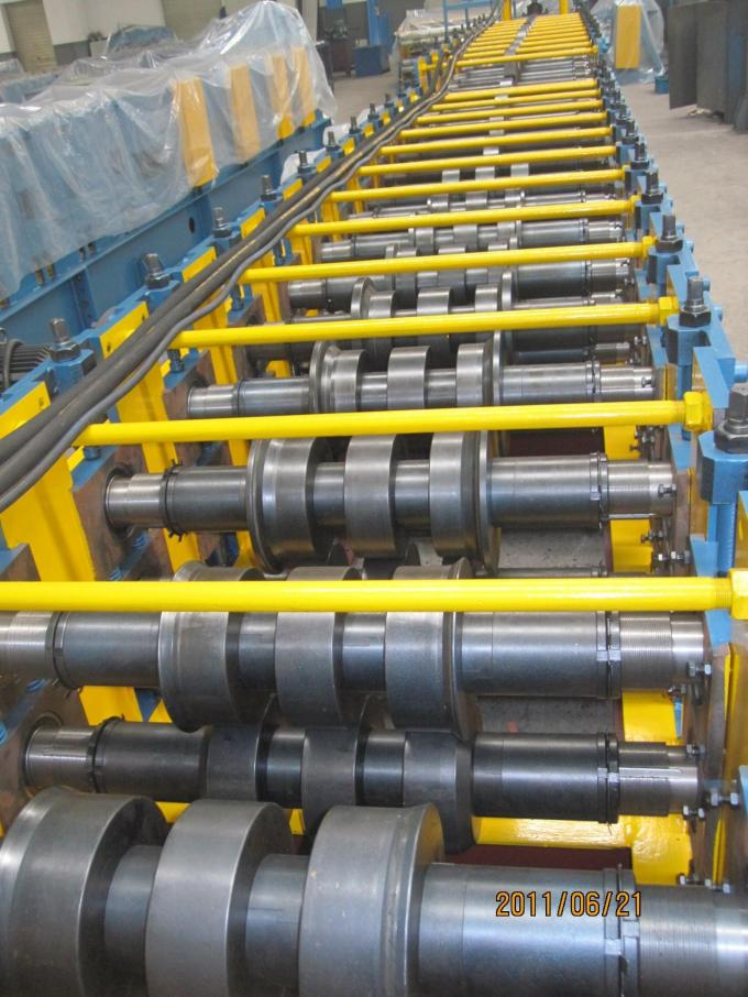 Omega Metal Roofing Roll Forming Machine / Cold Former Machine