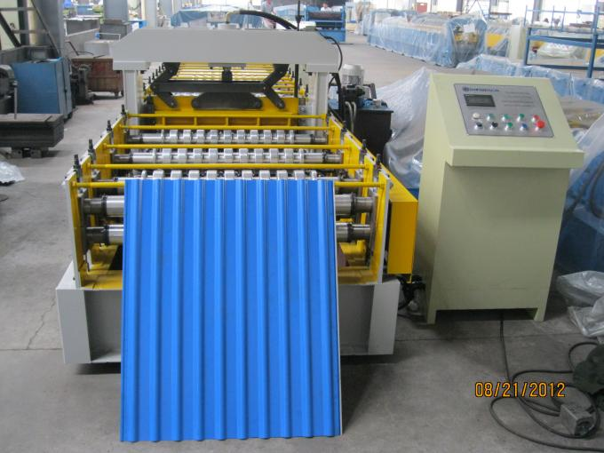 European Standard Cold Roll Forming Equipment 914mm Width , Roll Forming Machinery