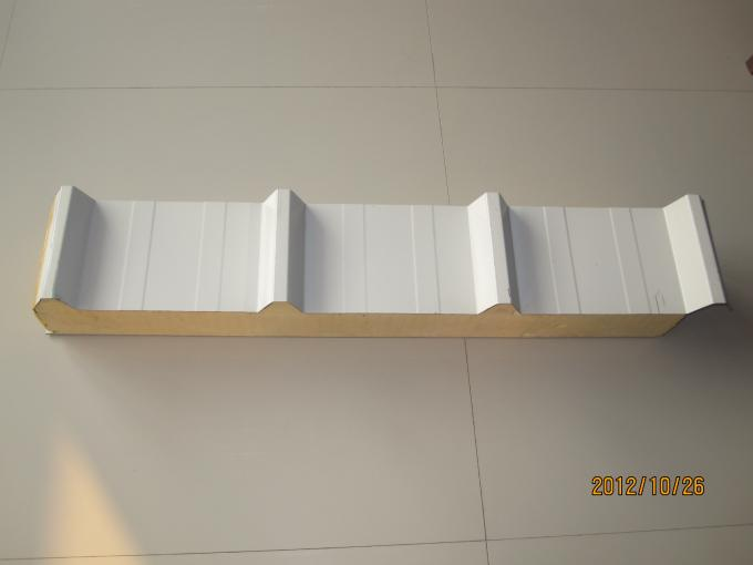 Polyurethane Sandwich Panel Roof : Good sound insulation pu sandwich panel roofing with