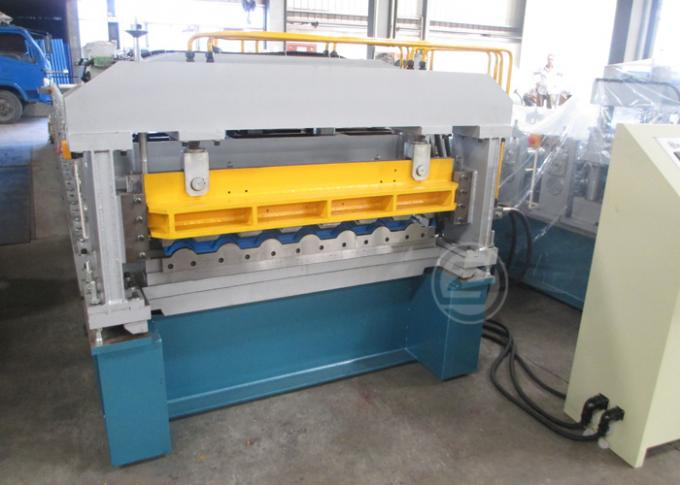 High Speed European Structure Metrocop Tile Roll Forming Machine Working Speed 5-6m/min,automatic machine