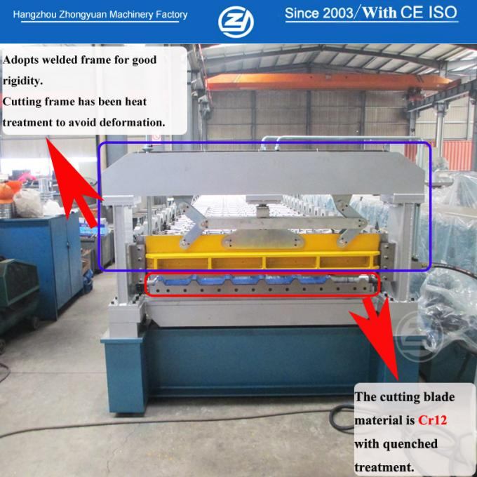 24 Months Warranty Time Automatic Metal Roof Roll Forming Machine Based On ISO Quality