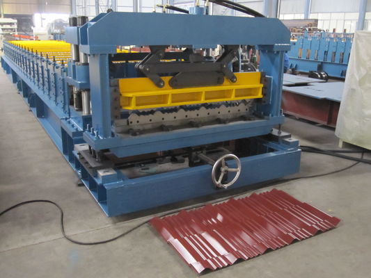 China Professional Automatic Cutting Metal Roll Forming Machines For Garden Roof supplier
