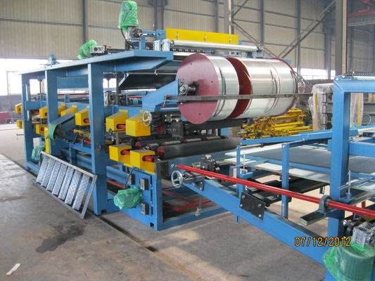 China EPS Sandwich Panel Production Line 28KW For Insulation Panel supplier