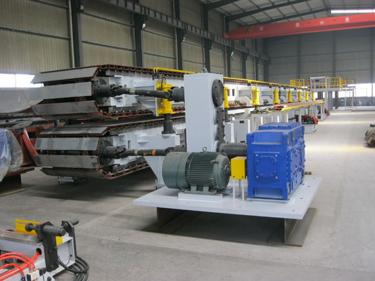 China Mitsubishi PLC Sandwich Panel Production Line / PU Sandwich Panel Machine supplier