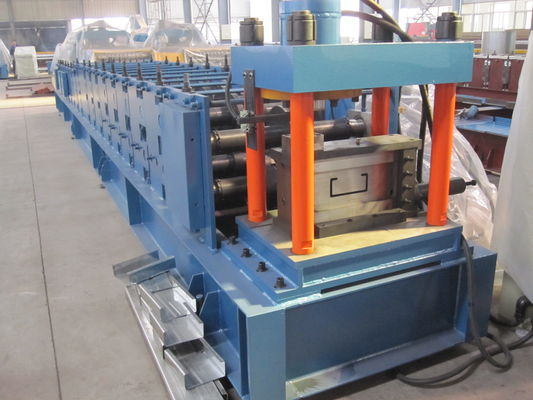 China Automatic Purlin Roll Forming Machine with Mitsubishi PLC 1.5mm - 3.0mm supplier