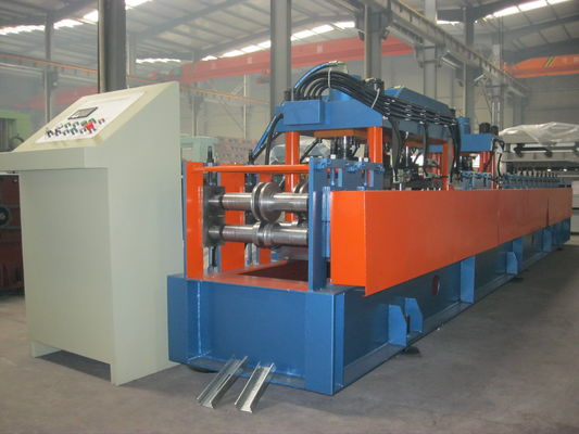 China Metal 440V Stud and Track Roll Forming Machine Mitsubishi PLC , Plated With Chrome supplier