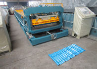China Automatic Color Steel Sheet Of Tile Roll Forming Machine With Lifetime Service factory