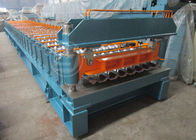 China CNC Automatic PPGI Steel Metal Roof Roll Forming Machine With CE Standard factory