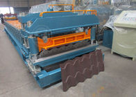 China Cr12 Mould Steel Cutter Roof Tile Roll Forming Machine 5.5KW ISO9001 company
