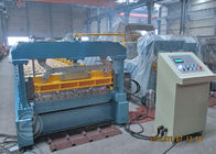 China Corrugated Metal Roof Roll Forming Machine Mitsubishi PLC Roll Former factory