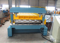 China Coil Width 1700mm Anti - Rust Floor Deck Forming Machine Tensile Strength 720Mpa factory