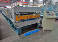 China 7.5KW Double Layer Roll Forming Machine Working Speed 25m / min company