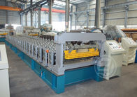 China High Speed Metal Roof Roll Forming Machine with Mitsubishi PLC , Roll Forming Equipment factory