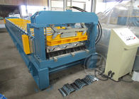 China 1200mm Floor Metal Deck Roll Forming Machine With Anti - Rust Roller 480V /60HZ company