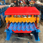 8000mm Building Galvanized Glazed Tile Roll Forming Machine