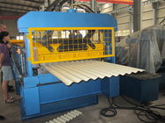 China 550Mpa Strength Corrugation Metal Sheet Roll Forming Machine High Speed factory