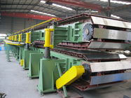 China Automatic PU Sandwich Panel Production Line , Polyurethane Sandwich Panel Making Line company