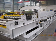 China 13 Groups Adjustable Width Roller Cold Roll Forming Machine for Sandwich Panel Production Line factory