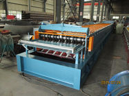 China Automatic Metal Deck Roll Forming Machine / Steel Deck Roll Former factory