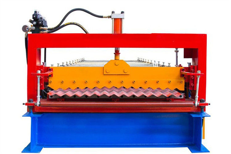 4.0 KW Metal Roofing Corrugated Iron Sheet Making Machine