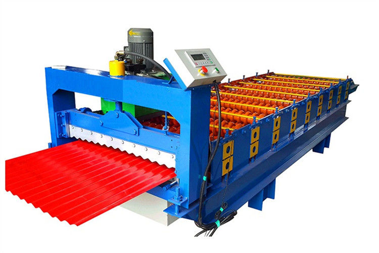 Downspout Roof Tile Corrugated Sheet Roll Forming Machine