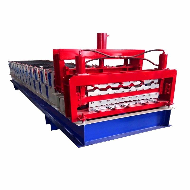6500mm Corrugated Steel Frame Roll Forming Machine