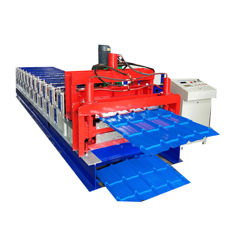 Automatic  Glazed Tile Double Layer Roll Forming Machine