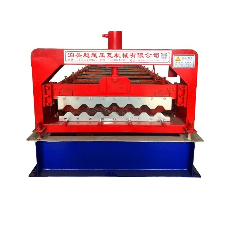 Iron Tile Roofing Corrugated Sheet Making Machine