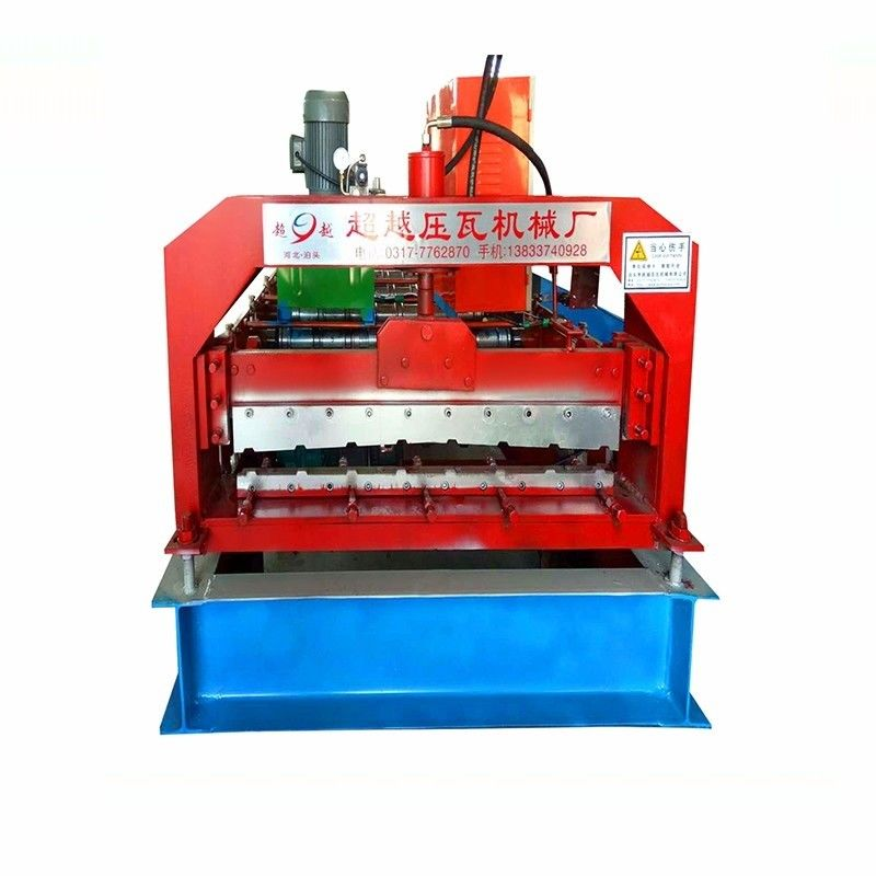 8000mm Galvanized Steel Door Shutter Roll Forming Machine
