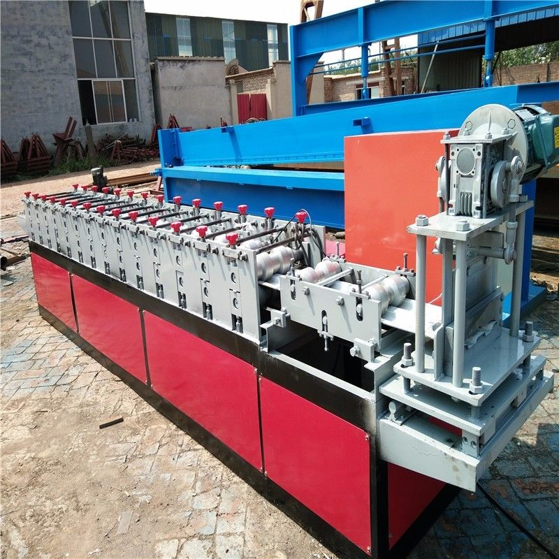 3kw Galvanized Steel Shutter Door Roll Forming Machine