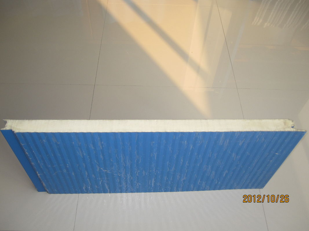 Lightweight Insulated Metal Wall Panels / Corrugated Steel Roofing