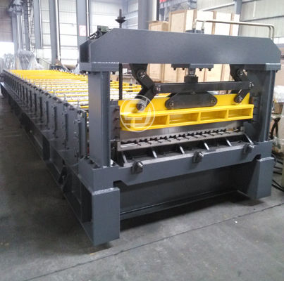 Raw Material Coil Width 1220mm Cold Roll Forming Equipment Mitsubishi PLC Roll Former