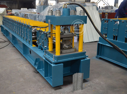 CE Customize Metal Shutter Door Forming Machine Controlled By Mitsubishi PLC