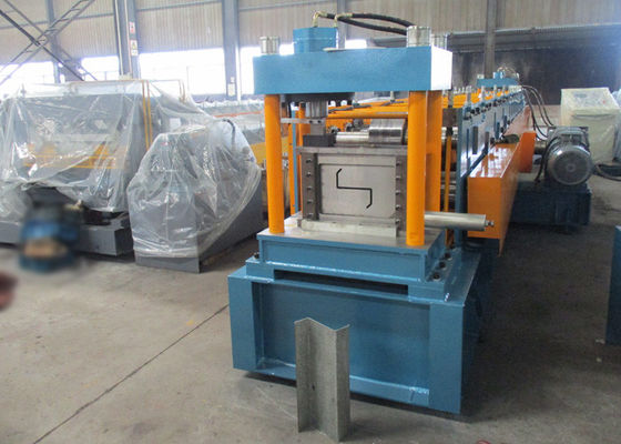 Auto PLC Control Z Purlin Roll Forming Machine with Engineer Oversea Service