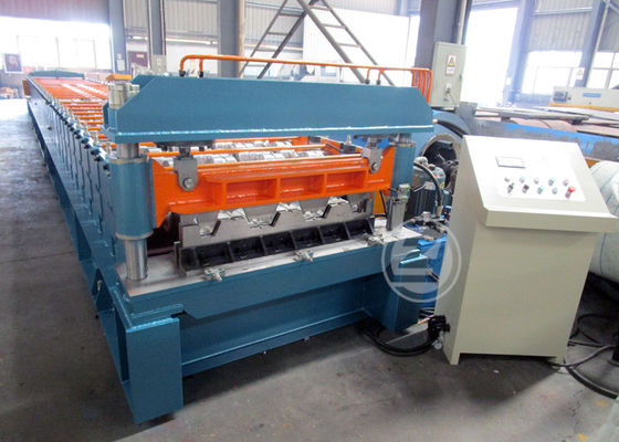 Mexico Market Width1219mm Floor Deck Roll Forming Machine 440v / 60HZ