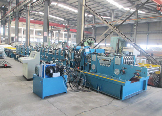 120-400 Gear Box Transmission Automatic C Purlin Forming Machine Russia Market