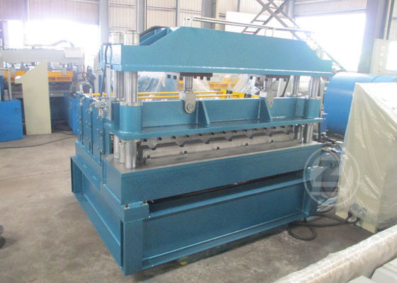 PLC Control Roof Panel Curving Crimping Machine Crimping times 10 times /min