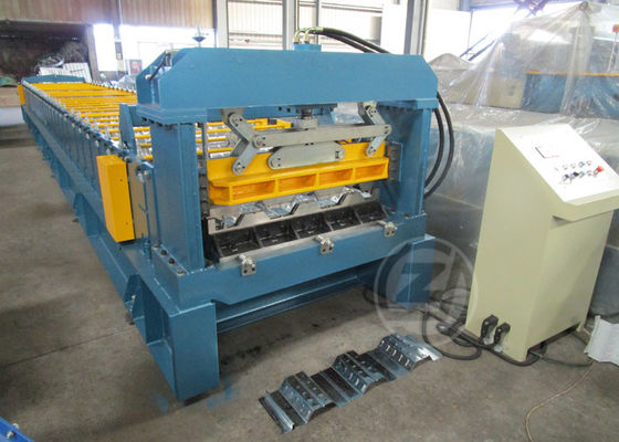 1200mm Floor Metal Deck Roll Forming Machine With Anti - Rust Roller 480V /60HZ