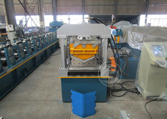 China 440V/60HZ European Standard Ridge Cap Forming Machine Shaft Diameter 55mm factory