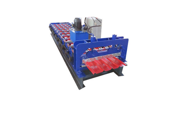0.7mm Automatic Trapezoidal Roofing Sheet Making Machine