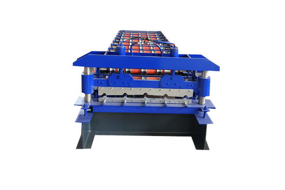 15 M Min Galvanized Steel Trapezoidal Roof Tile Roll Forming Machine