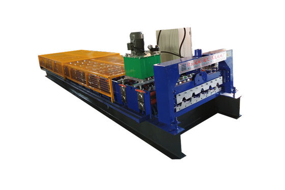 15 M Min 5.5 KW Roofing Tile Profile Zinc Sheet Making Machine