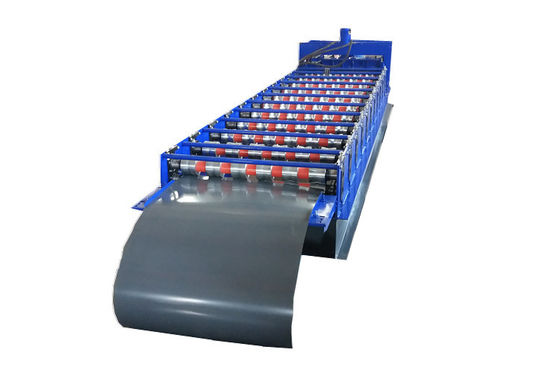 Roofing Glazed Tile Floor Deck Roll Forming Machine