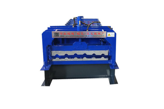 Metal Roofing Step Glazed Tile Roll Forming Machine