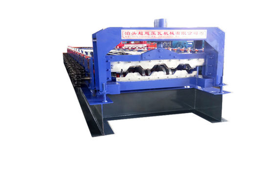 Building  Tile Floor Deck Roll Forming Machine