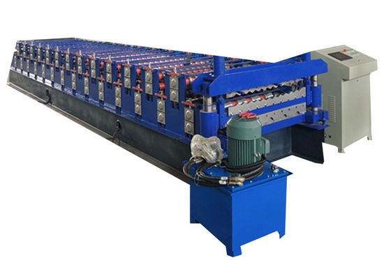 Colored Steel Ibr Sheet Double Layer Roll Forming Machine