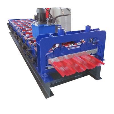 16m Min 900mm Car Panel Corrugated Iron Roofing Sheet Making Machine