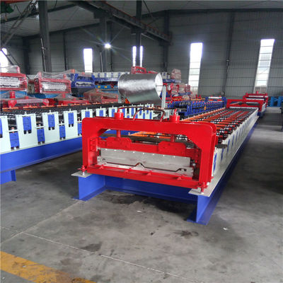 5.5 Kw Metal Roof Standing Seam Roll Forming Machine