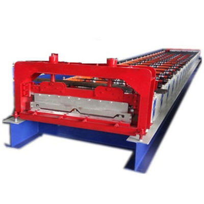 760mm 820mm Automatic Standing Seam Metal Roof Machine