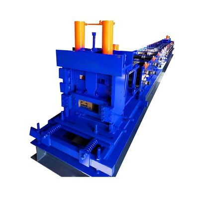Profile Metal Channel U L W Cz Purlin Roll Forming Machine